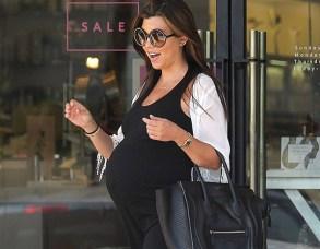 Kourtney Kardashian enceinte pour la troisième fois