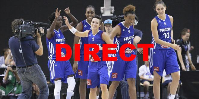 Match Basket féminin France Brésil 2014 en direct TV et streaming barrage Championnat Monde