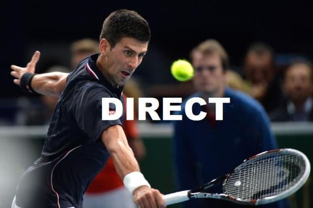 Voir match Tennis Berdych Raonic Djokovic Nishikori en direct et Diffusion TV Tournoi Masters 1000 Paris Bercy 2014 en vidéo