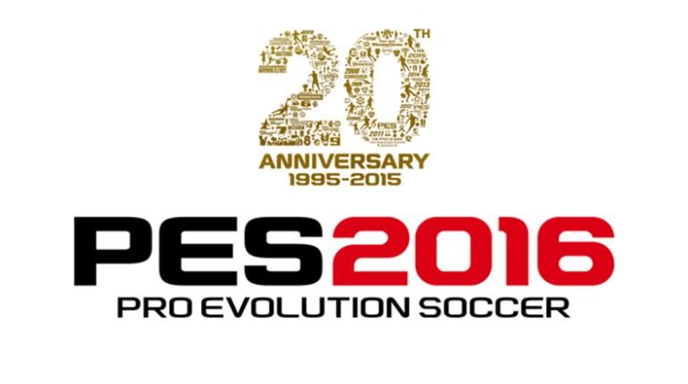 PES 2016 fête les 20 ans de la série PES