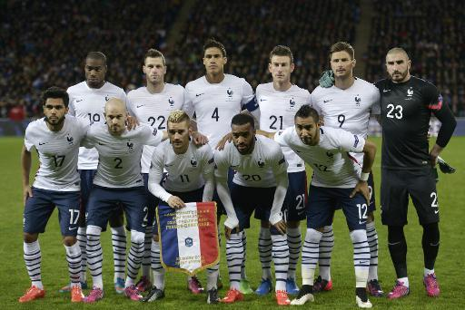 Les matchs amicaux de l'équipe de France de football