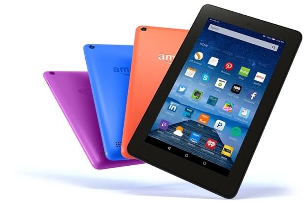 Amazon change les couleurs de son Kindle Fire pour le printemps