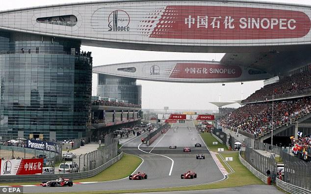 La F1 prend la direction de l'Asie pour le Grand Prix de Chine à Shanghai