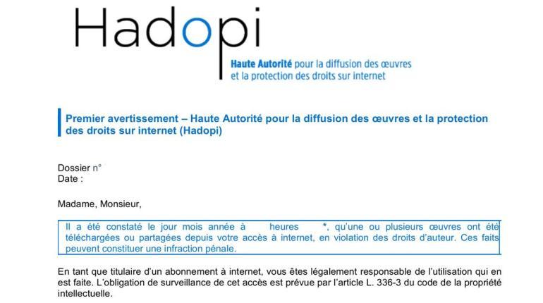La France renonce à Hadopi et l'institution sera supprimée en 2022