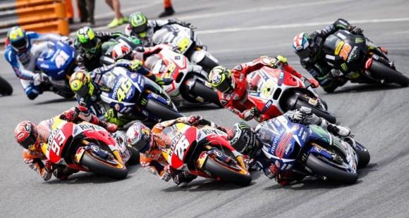 La Moto GP fait son spectacle au Grand Prix d'Allemagne