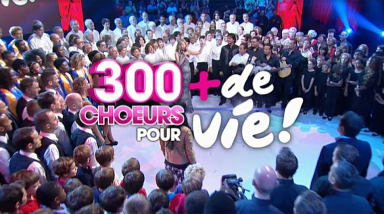 300 chœurs pour + de Vie en direct sur France 3 : Regarder les 20 ans de + de Vie en replay