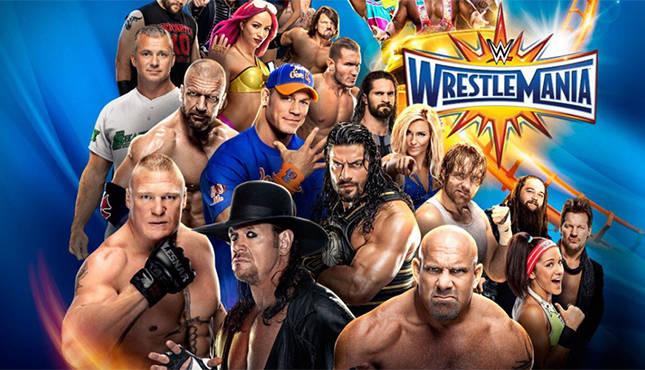 Voir WrestleMania 33 en direct à la TV : Replay vidéo et résultats combats catch PPV WWE