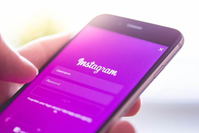 Appli Instagram Smartphone