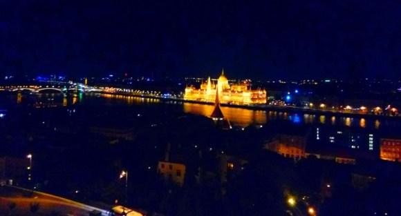 Budapest ville romantique