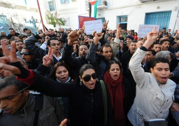 Manifestation Tunis