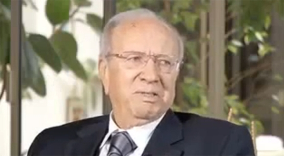 Mr Béji Caïd Essebsi : Premier Ministre tunisien