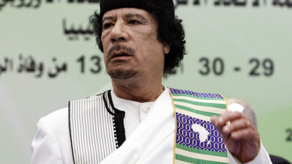 Mouamar Kadhafi : Dirigeant Libyen