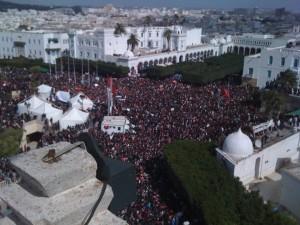 La Kasbah - Tunis : Vendredi 25 Février 2011