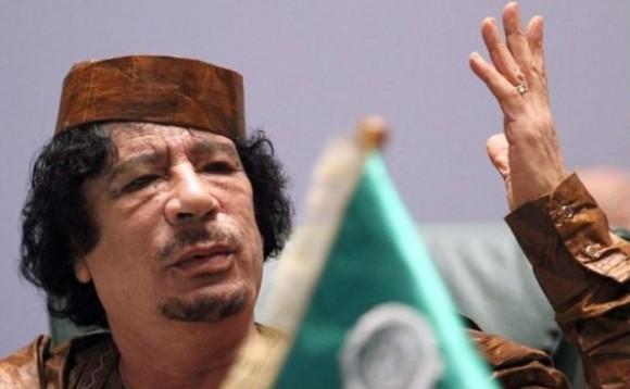 Le Colonel Mouamar Kadhafi - Dirigeant de la Libye