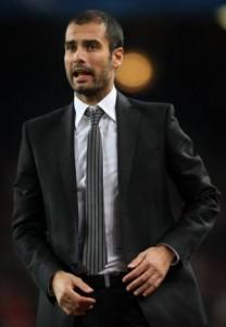 Josep Guardiola, entraîneur de Barcelone