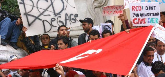 Manifestation du 24 Avril 2011 au centre ville - Tunis