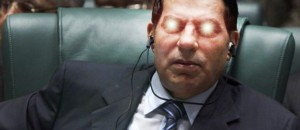Zine El Abidine Ben Ali rêvant des étoiles