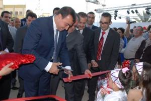 M. Mehdi Houas à l'inauguration de Materna Sfax
