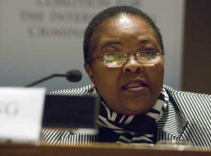 Sanji Mmasenono Monageng
