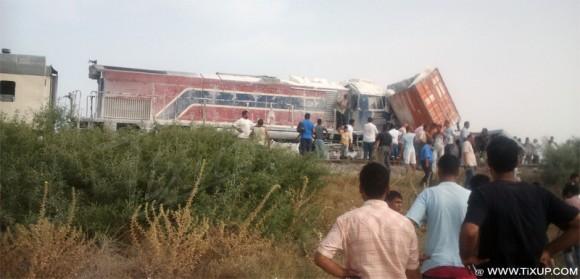 Accident à Cheguarnia avec deux blessés