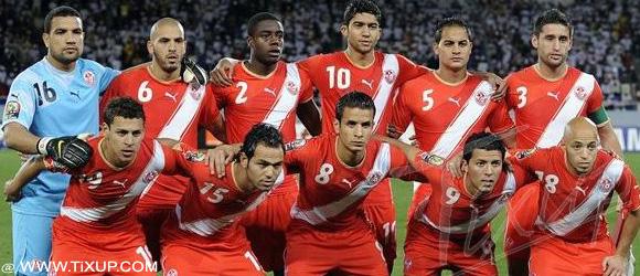 La Tunisie dans le groupe B des éliminatoires de la Coupe du Monde 2014