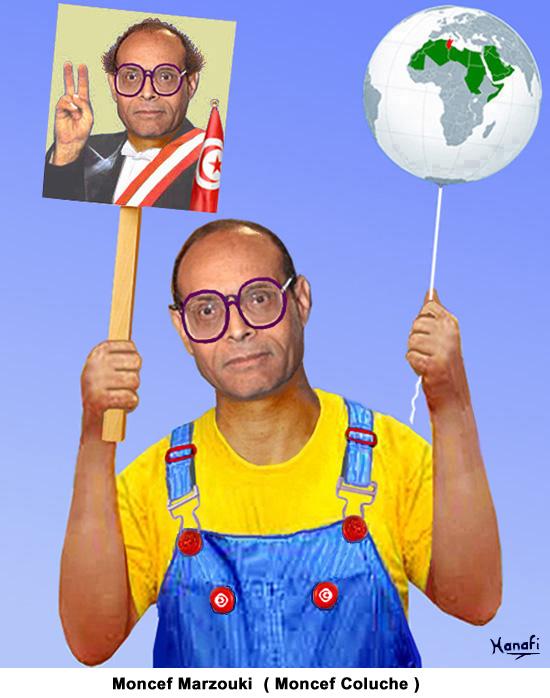 Moncef Marzouki (Moncef Coluche)
