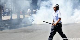Tunis: La violence pour une reprise de la repression