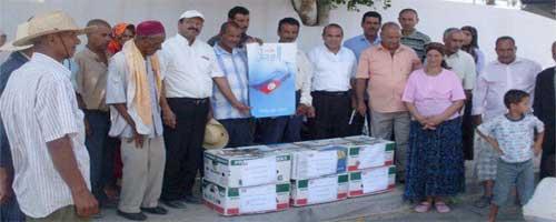 Tunisie: Un parti politique qui offre des bananes
