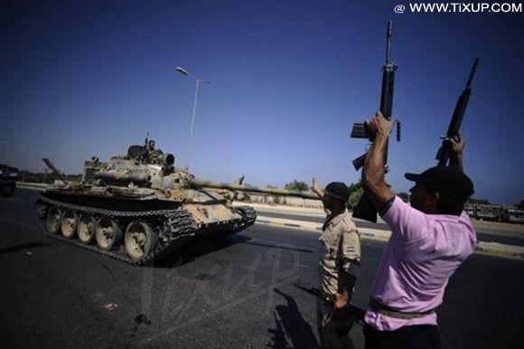 Libye: Les rebelles gagne 60% du territoire de Tripoli