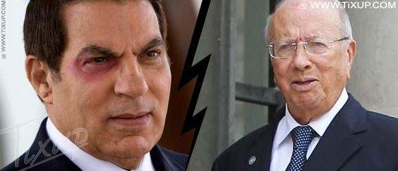 Zine El Abidine Ben Ali - Béji Caïd Essebsi