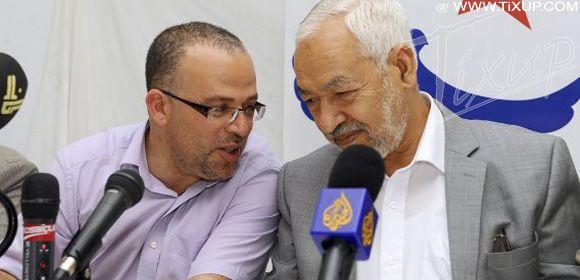 Samir Dilou & Rached Ghannouchi