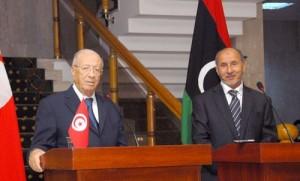 Béji Caïd Essebsi - Mustapha Abdeljalil