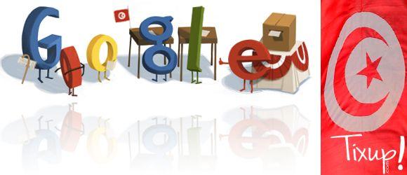 Google illustre les élections en Tunisie