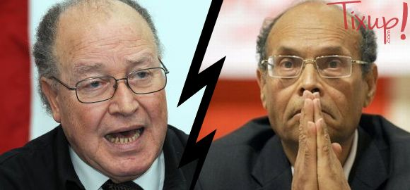 Mustapha Ben Jaafar - Moncef Marzouki