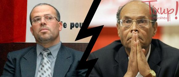 Samir Dilou - Moncef Marzouki