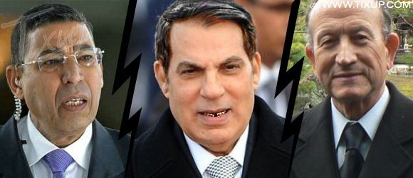 Ali Seriati - Zine El Abidine Ben Ali - Abdallah Kallel