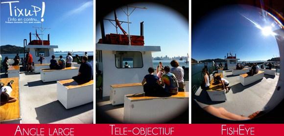 Lens Dial : 3 Modes de photos