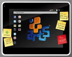 Tablette Arts T216