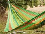 V Weave hammock – Flowerfield 2