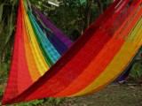 V Weave hammock – Rainbow