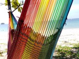 Travel Hammock – Pale Rainbow