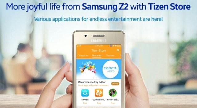 Samsung Z2 Apps