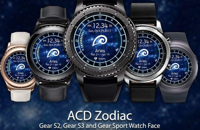 ACD Zodiac Watch Faces