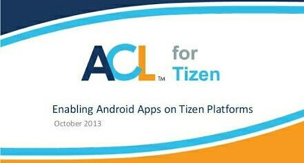 ACL For Tizen & Its Supported Apps Disappeared From Tizen