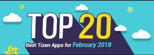 Top 20 Tizen Apps