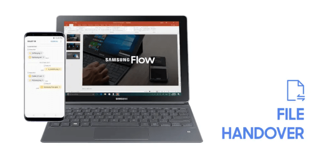 Samsung Flow App