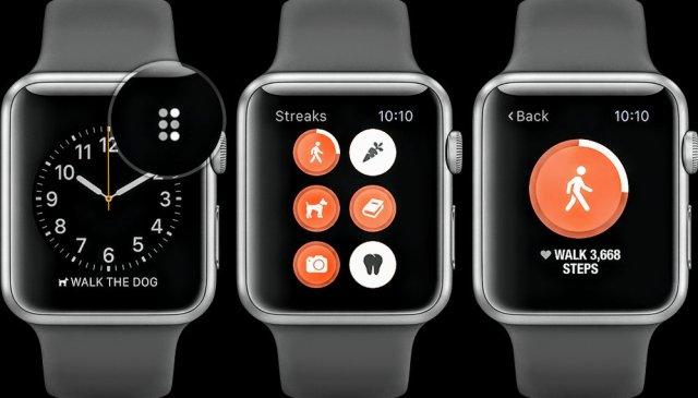 Streak Workout on Apple Watch