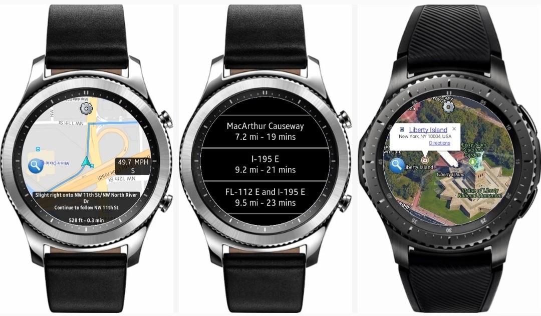 Best GPS & Navigation Apps For Samsung Galaxy Watch & Gear S3