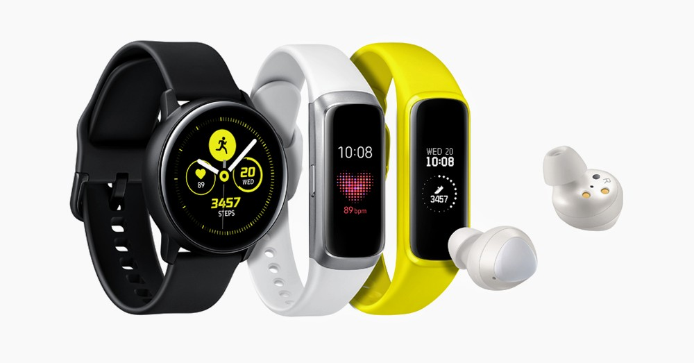 Samsung Launched Galaxy Watch Active, Galaxy Fit/Fit e & Galaxy Buds