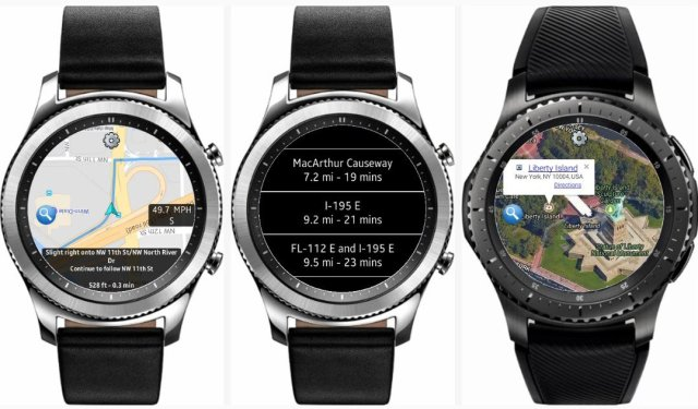 Best GPS & Navigation Apps For Galaxy Watch, Gear S3 & Gear